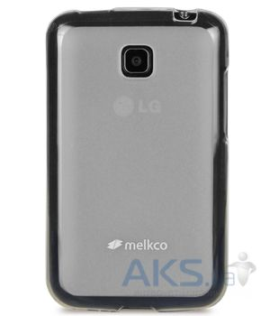Чехол Melkco Poly Jacket TPU cover for LG E435 L3 II Transparent