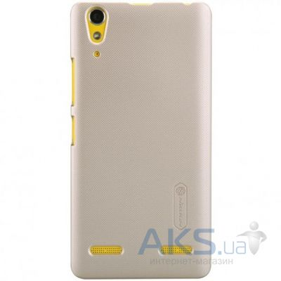 Чехол Nillkin Super Frosted Shield Lenovo K3, Lenovo A6000, A6010 Gold