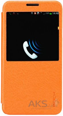 Чехол Rock Excel Series Samsung N9000 Galaxy Note 3 Orange