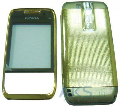 Корпус Nokia E66 Gold - купить в Киеве 6aa00adf43df8