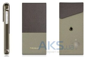 Чехол Macally Flip Case W. Rotatable Stand For iPhone 5C Beige (SSTANDP6-B)