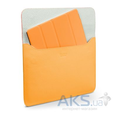 Чехол для планшета SGP Leather Case illuzion Sleeve Series Solaris Orange for iPad Air (SGP07632)