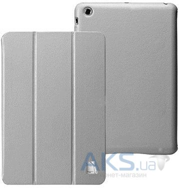 Чехол для планшета JustCase Leather Case For iPad mini Grey  (SS0020)