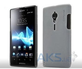 Чехол Capdase Soft Jacket Xpose Tinted for Sony Xperia Ion LT28i Black (SJSYLT28I-P201)