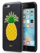 Чехол Laut Kitsch Series Apple iPhone 6, iPhone 6S Black Pineapple (LAUT_IP6_KH_BK)