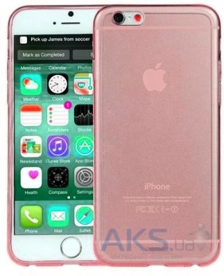 Чехол REMAX Crystal Series Apple iPhone 6, iPhone 6S Pink