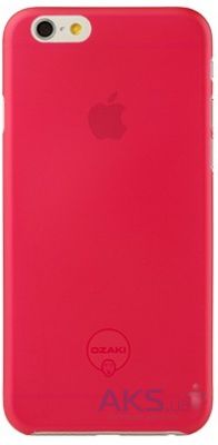 Чехол Ozaki O!coat 0.3 Jelly Apple iPhone 6, iPhone 6S Red (OC555RD)
