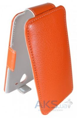Чехол Sirius Flip case for Lenovo A606 Orange