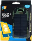 Вид 4 - Повербанк power bank Drobak Solar Power 4000  mAh Khaki (606802)