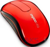 Компьютерная мышка Rapoo Wireless Touch Mouse T120p Red