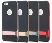 Вид 2 - Чехол Rock Royce Stand Series Apple iPhone 6, iPhone 6S Rose Gold