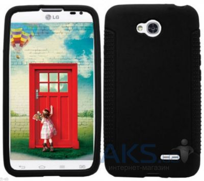 Чехол Original TPU для LG Optimus L70 D320 Black