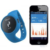 Вид 3 - Спортивный браслет iHealth Wireless Activity and Sleep Blue (ZRYAM3)