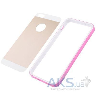 Чехол Vouni Combination Apple iPhone 5, iPhone 5S, iPhone 5SE Pink