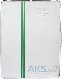 Чехол для планшета Aston Martin Book Case iPad 3 white (BKIPA2001B)