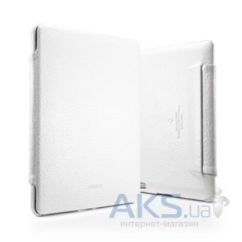 Чехол для планшета SGP Leather Case Argos Series White for iPad 4/iPad 3/iPad 2 (SGP09430)