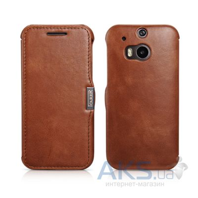 Чехол iCarer Vintage for HTC One (M8) Brown