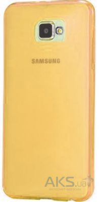Чехол Remax Ultra Thin Silicon Case Samsung A310 Galaxy A3 2016 Gold