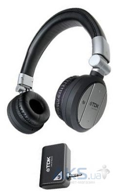 Наушники (гарнитура) TDK WR700 Wireless On Ear Headphones Black