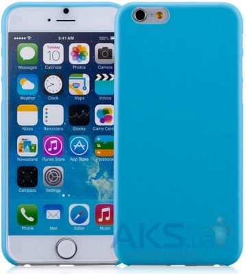 Чехол Momax Membrane case 0.3 for iPhone 6 Plus Blue (CSAPIP6LB)