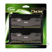 Вид 2 - Оперативная память Team DDR3 16GB (2x8GB) 2400 MHz Dark Series Gray (TDGED316G2400HC11CDC01)