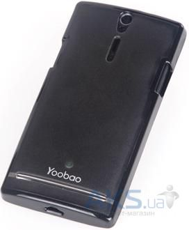 Чехол Yoobao 2 in 1 Protect case for Sony Xperia S LT26i Black (PCSELT26I-BK)