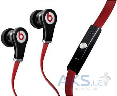 Наушники (гарнитура) Monster Beats™ by Dr. Dre™ Tour High Resolution In-Ear with ControlTalk Red