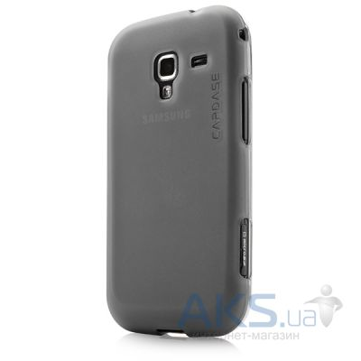 Чехол Capdase Soft Jacket Xpose Tinted for Samsung i8160 Galaxy Ace II Black (SJSGI8160-P201)