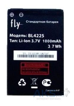 Аккумулятор Fly DS107 / BL4225 (1000 mAh) Original
