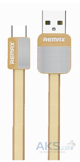 Кабель USB Remax Platinum micro USB Gold (RC-044m)