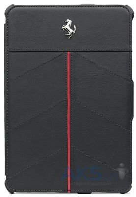 Чехол для планшета CG Mobile Ferrari Leather Folio Case California Collection Black/Red for iPad mini (FECFFCMPBL)