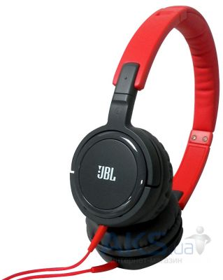 Наушники (гарнитура) JBL On-Ear Headphone T300A Red/Grey (T300ARNG)