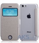 Чехол Momax Flip View case for iPhone 5C White