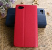 Вид 3 - Чехол Original Book Stripe Series Doogee Y300, Y300 Pro Black - Red