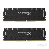Оперативна пам'ять Kingston DDR4 16GB (2x8GB) 3000Mhz HyperX Predator (HX430C15PB3K2/16)