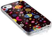 Вид 2 - Чехол ITSkins Phantom for iPhone 5C Color Fish (APNP-PHANT-BLK1)
