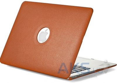 Чехол Kuzy Leather Case for MacBook Pro 13(with Retina display) Orange
