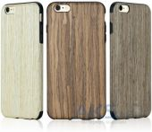 Вид 4 - Чехол Rock Origin Grained Series Apple iPhone 6, iPhone 6S Nordic Walnut