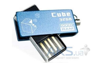 Флешка GooDRam Cube 32 GB (PD32GH2GRCUBR9) Blue