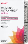 Витамины GNC Womens Ultra Mega Active 90 капсул