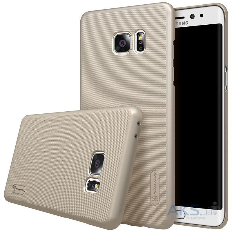 Чехол Nillkin Super Frosted Shield Samsung N930 Galaxy Note 7 Gold