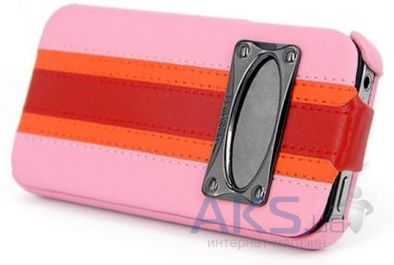 Чехол Hoco Marquess fashion leather case iPhone 4&4S Pink