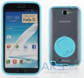 Чехол Yoobao Rotating holder case for Samsung N7100 Galaxy Note II Blue (PCSAMN7100-HBL)