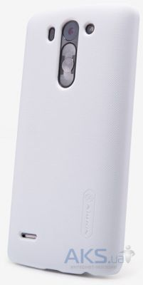 Чехол Nillkin Super Frosted Shield LG Optimus G3s D722, D724 White