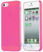Чехол Rock Texture Shell Series Apple iPhone 5C Pink