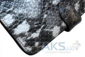 Вид 3 - Обложка (чехол) Saxon Case для PocketBook Basic 611/613 Snake Silver