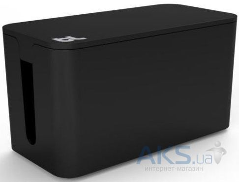 Bluelounge CableBox Mini Cable Management Box Black (CBM-BL)