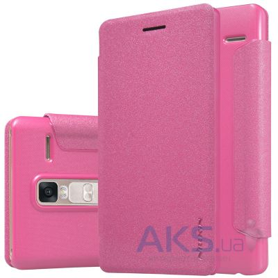 Чехол Nillkin Sparkle Leather Series LG H650E Class, H650 Zero Pink