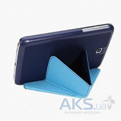 Чехол для планшета Xundd V Leather case for Samsung P5200/P5210 Galaxy Tab 3 10.1 Blue