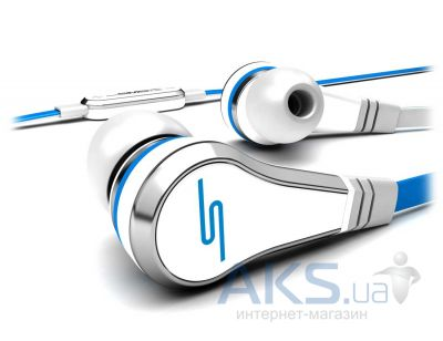 Наушники (гарнитура) SMS-Audio STREET by 50 Wired In-Ear White (SMS-EB-WHT)